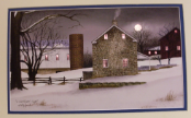 A Cold Winter's Night lighted picture by Billy Jacobs