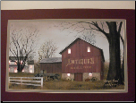 Antique Barn lit print by Billy Jacobs