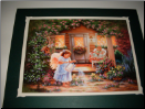 Front Porch Angels lighted print By Dona Gelsinger