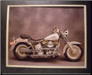 Motorcycle Lit Prints