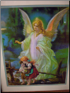 Guardian Angel lighted picture