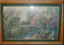 Willow Creek Mill lit print By Carl Valente